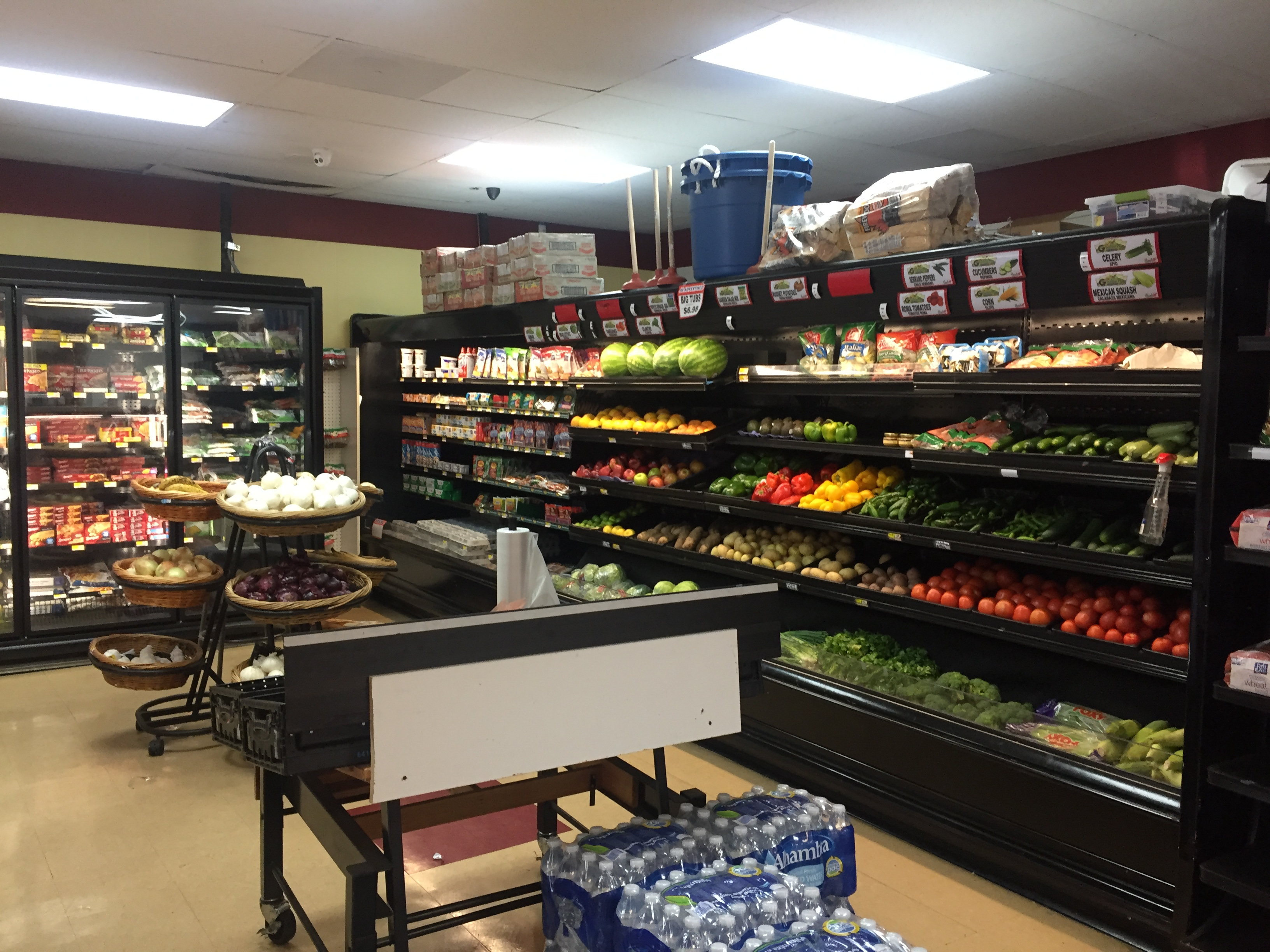 Supermarket in East Bay