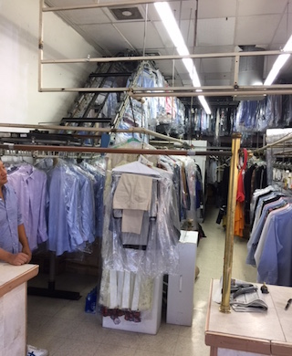 DRY CLEANING PLANT IN AFFLUENT AREA