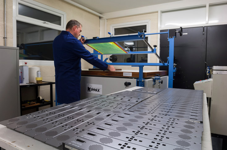 Metal finishing and screen printing business
