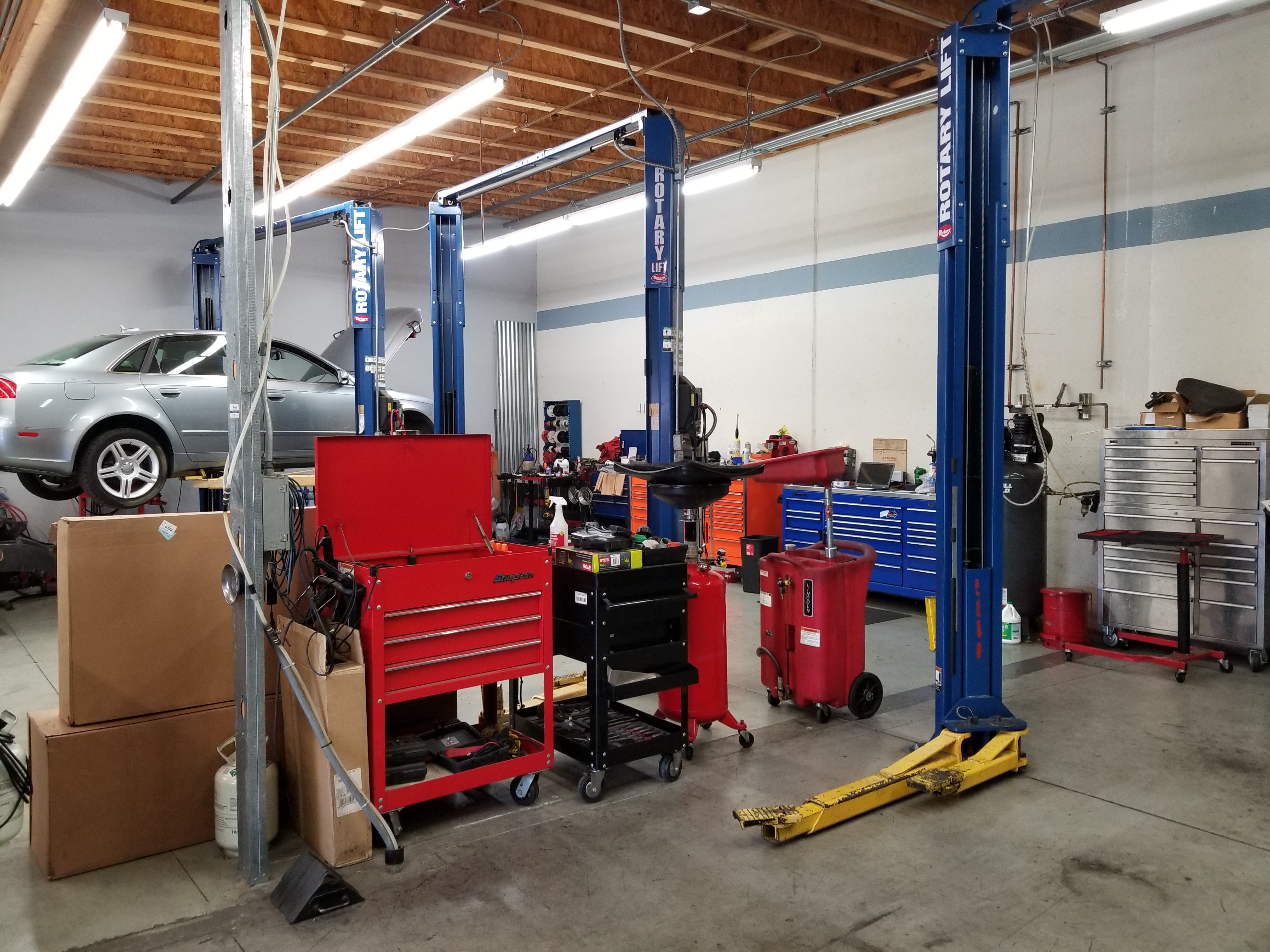 SF Auto Repair Full Services with Growth Potential