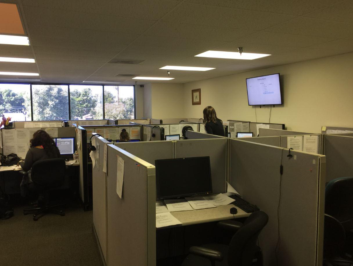 Call center, Outbound calls